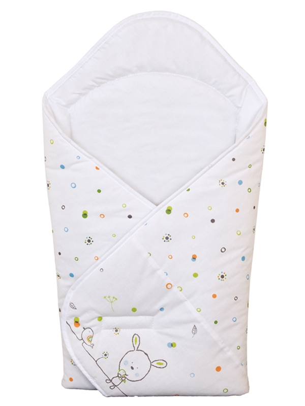 Одеяло-конверт Ceba Baby(W-810-903-020 Dream Roll-Over White прнт)