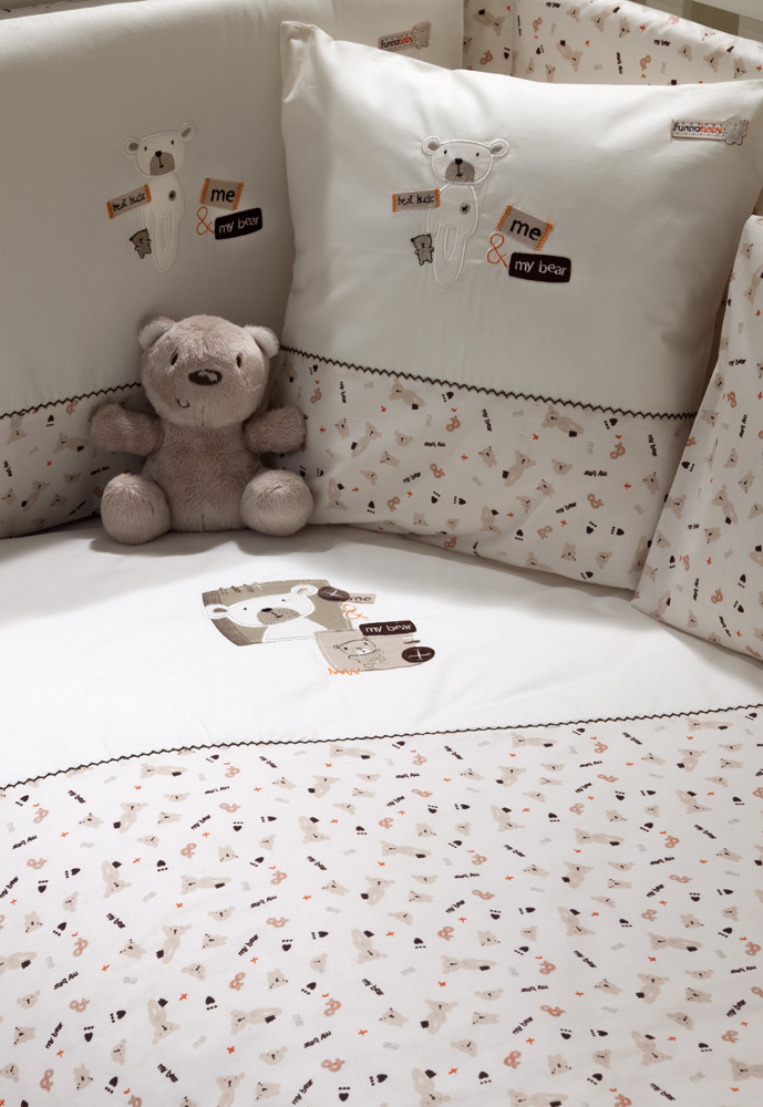 Подушка 40x40 см Funnababy My Bear