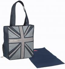 Сумка для мамы Maclaren Magazine Tote Denim Flag(Denim)