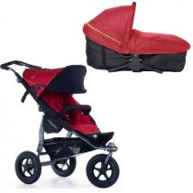 Коляска 2в1 TFK (ТФК) Joggster Adventure MultiX Tango Red T-JA-19-345/T-54-19-345