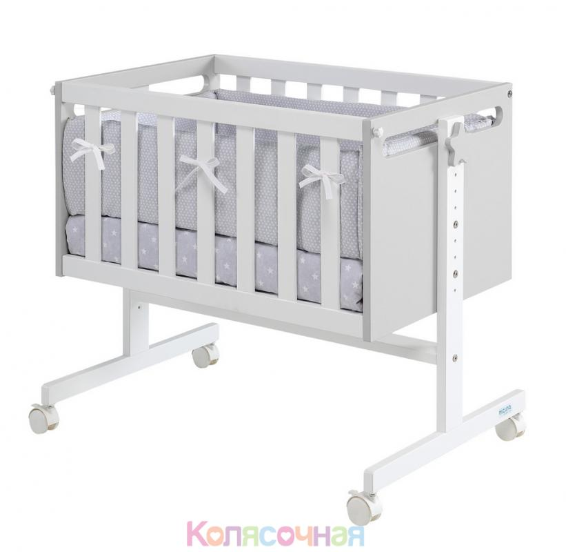 Колыбель Micuna You Me MO-1838(Grey/White)