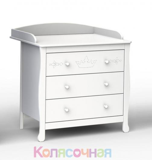 Комод Fiorellino Crown(White)